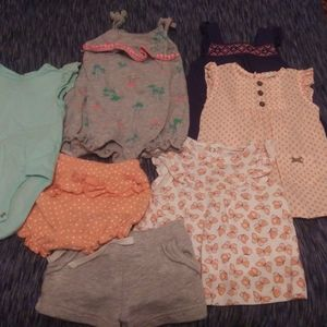 carters lot 0-3 month